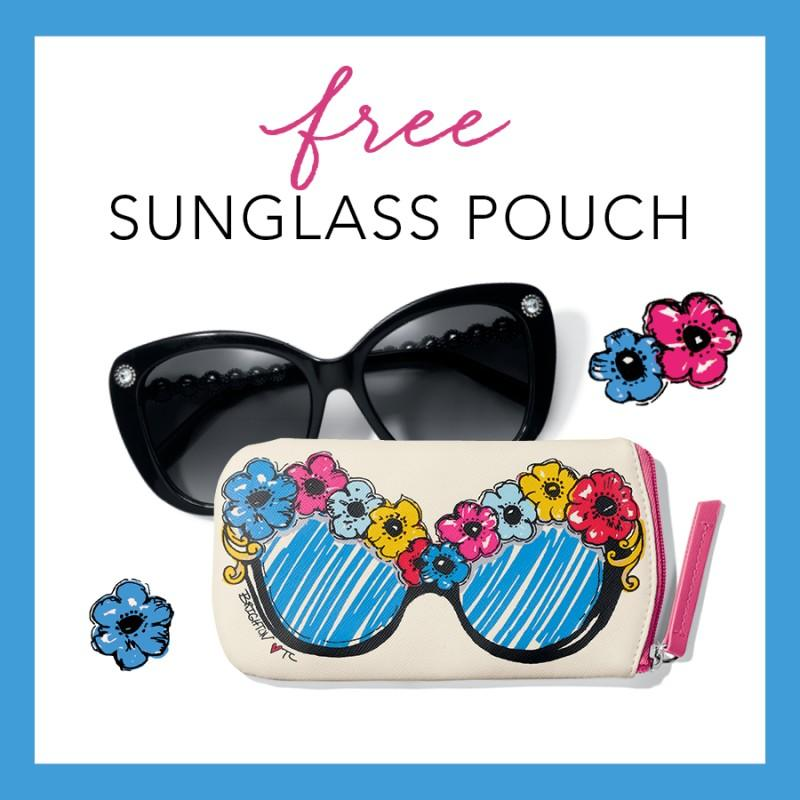 Our Gift To YOU – BRIGHT EYES Sunglass Pouch from Brighton Collectibles