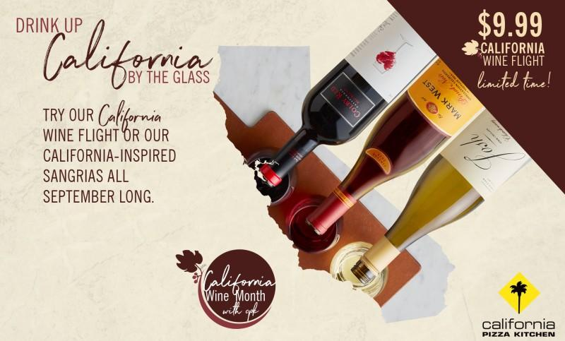 California Wine Month is Back at CPK! from California Pizza Kitchen