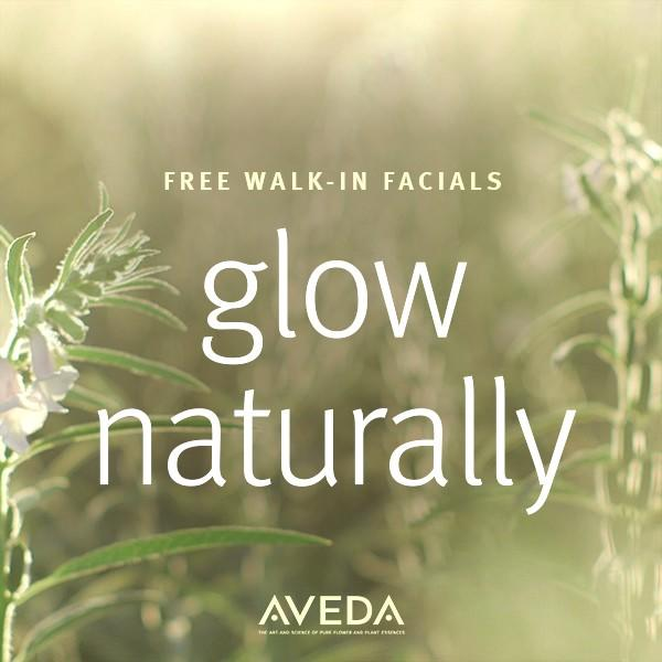 Free Mini Facial from Aveda