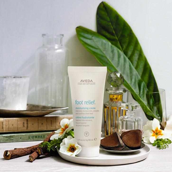 Free Foot Relief w/any purchase from Aveda