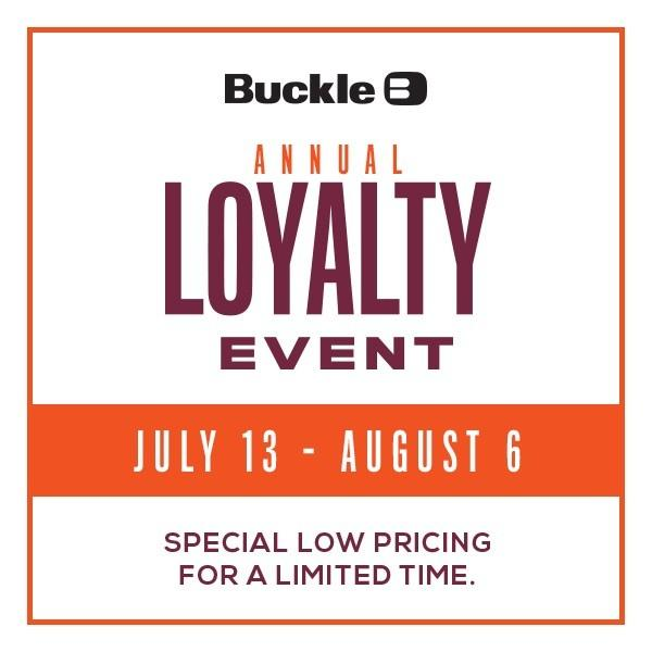 Annual Loyalty Event from Buckle