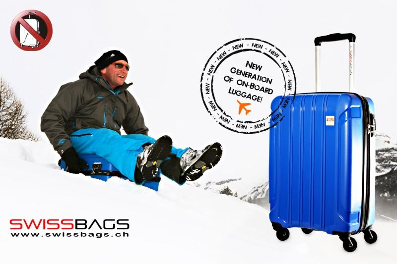 NEW unique luggage line by SWISSBAGS