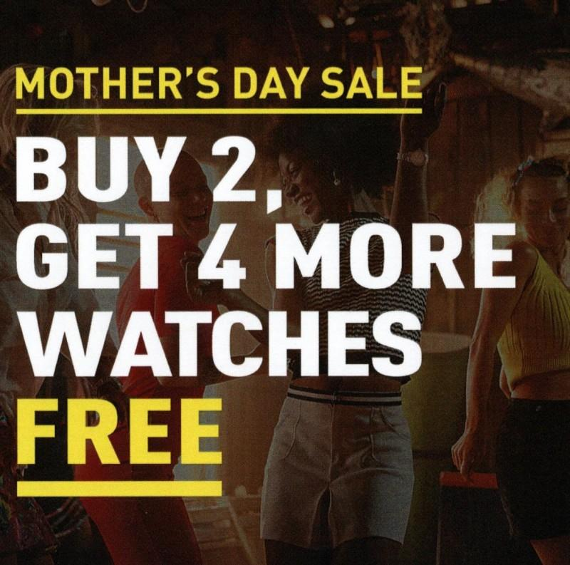 Buy 2, get 4 Free! from Invicta