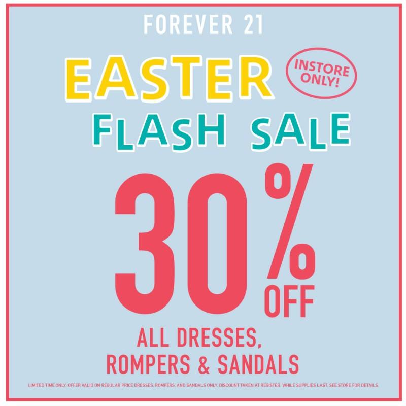 Easter Flash Sale from Forever 21