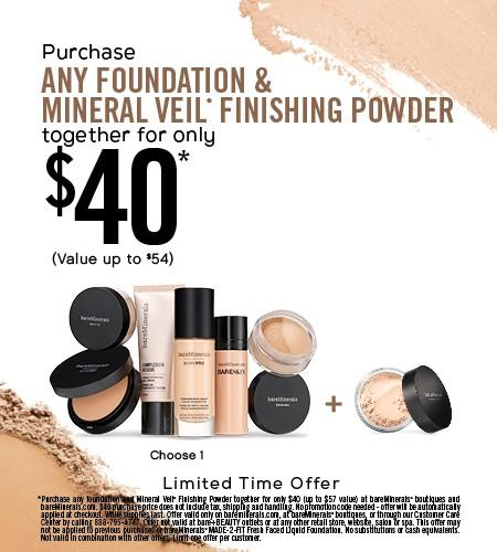 Boutique-FDN and MinVeil Bundle from bareMinerals