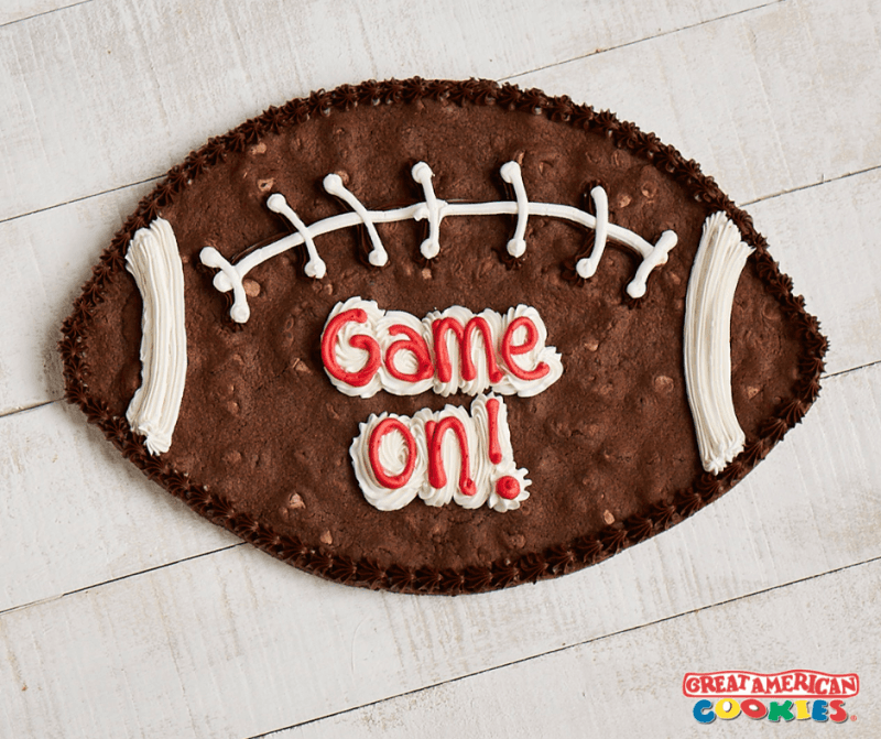It's Football Time from Great American Cookie