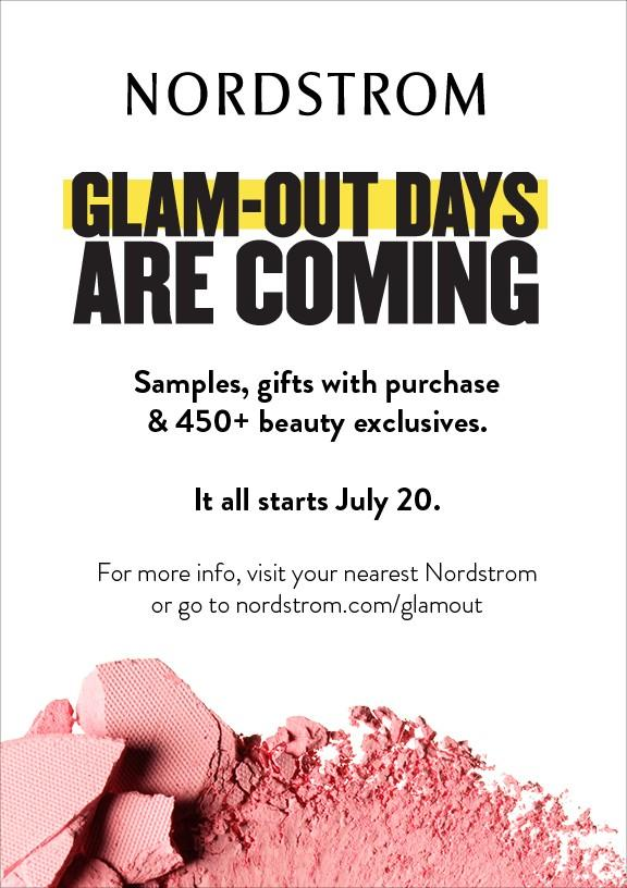 Glam Out Days Are Coming! from Nordstrom
