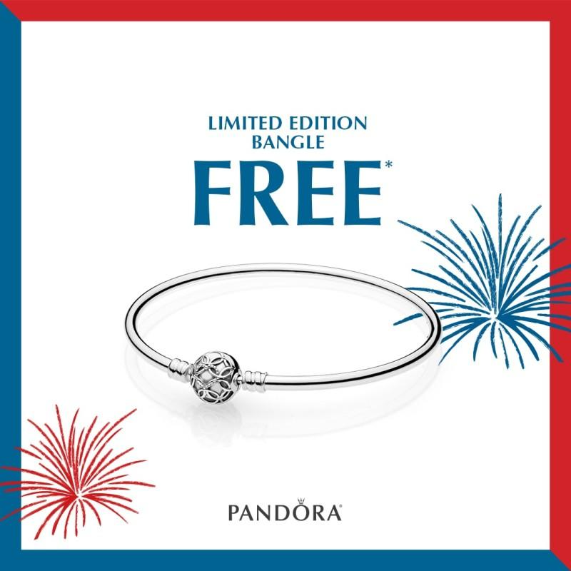 Memorial Day Promotion from PANDORA