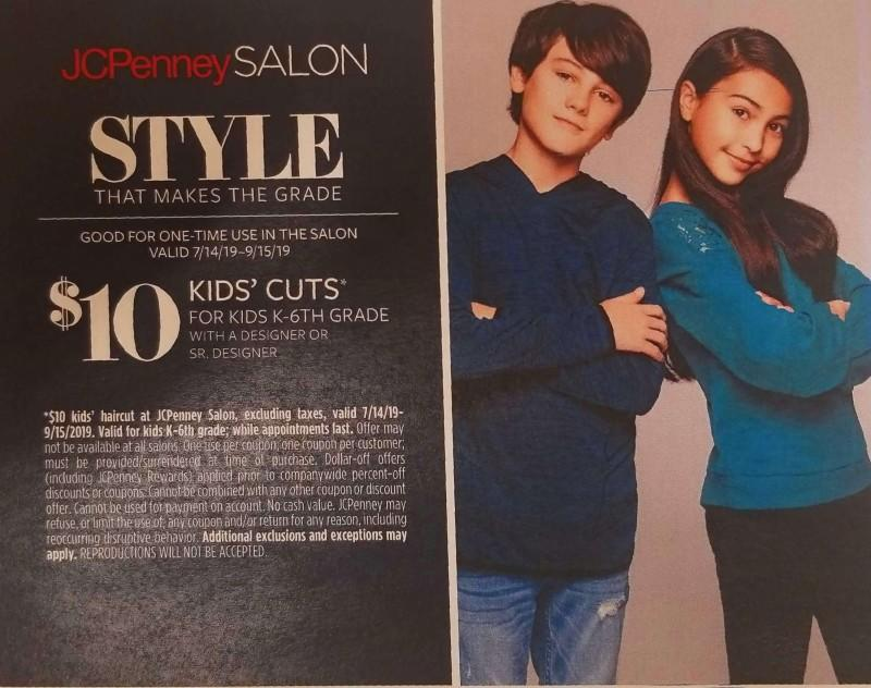 Kids' Cuts from JCPenney
