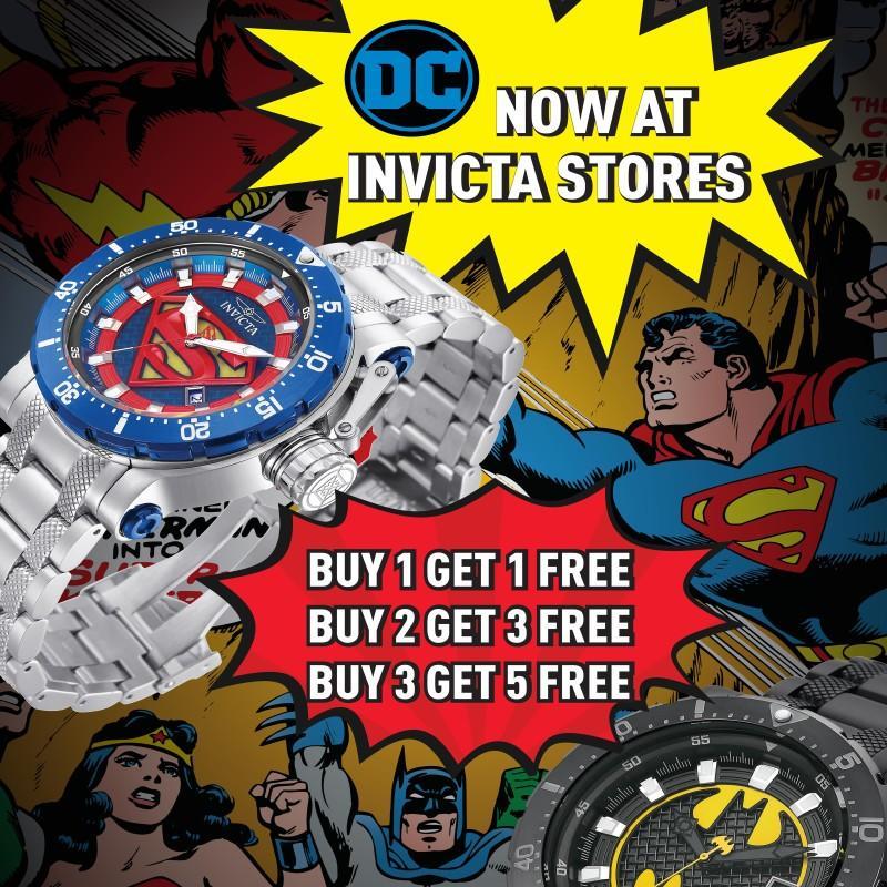 DC Comics Invicta Collection Launch from Invicta