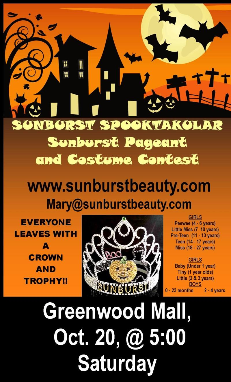 Halloween Costume Contest and Beauty Pageant