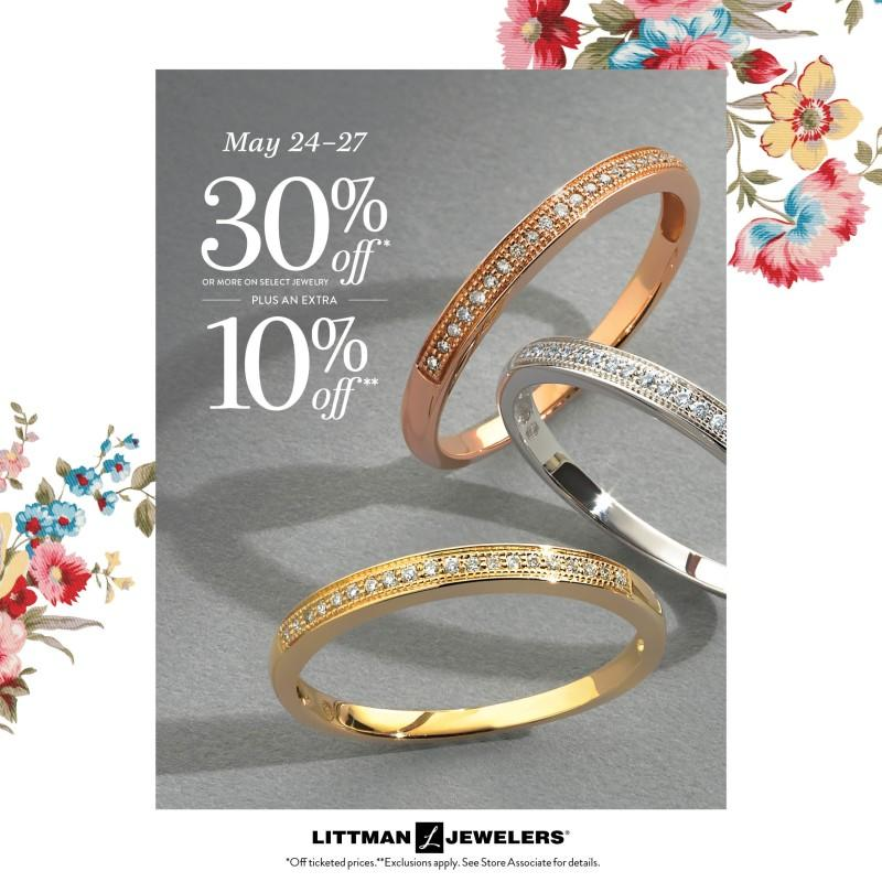 Memorial Day 4 Day Sale! from Littman Jewelers