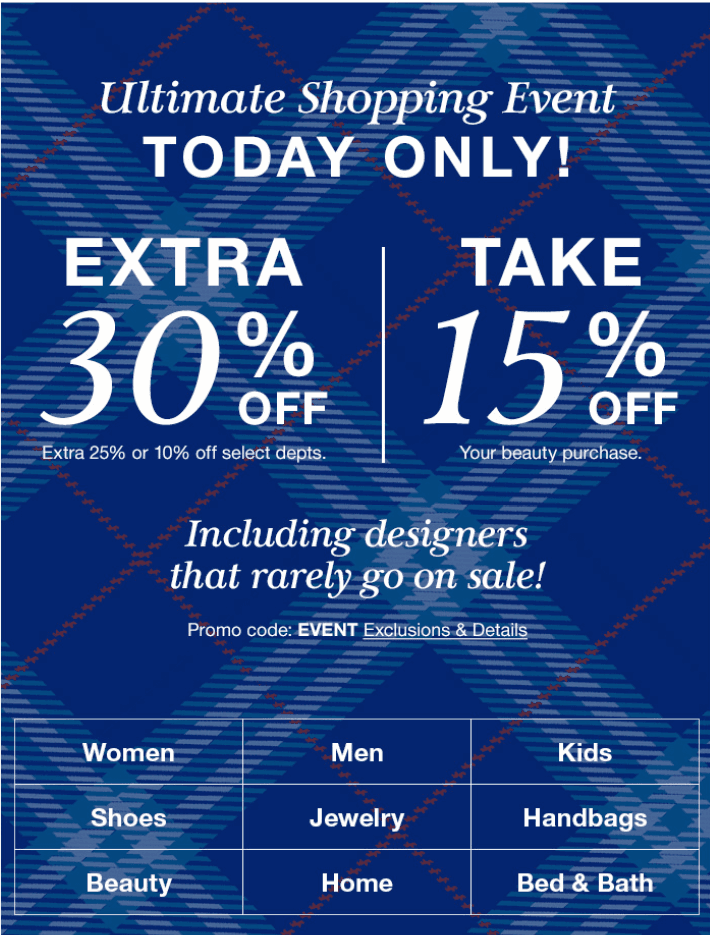 Ultimate Shopping Event from macy's