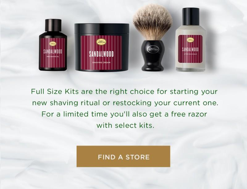 Holiday Promotions from The Art of Shaving