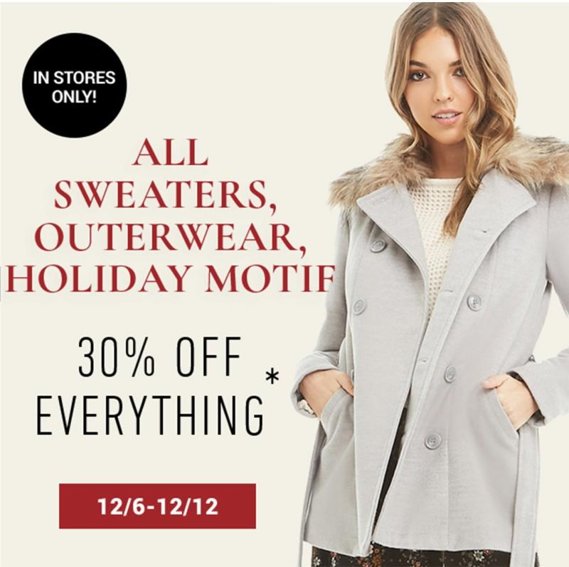 Outerwear Sale from Forever 21