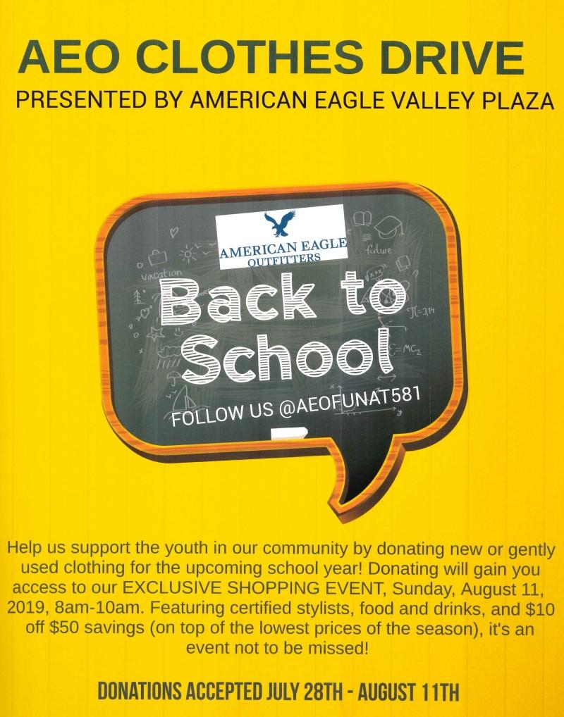 Back To School Event from American Eagle Outfitters