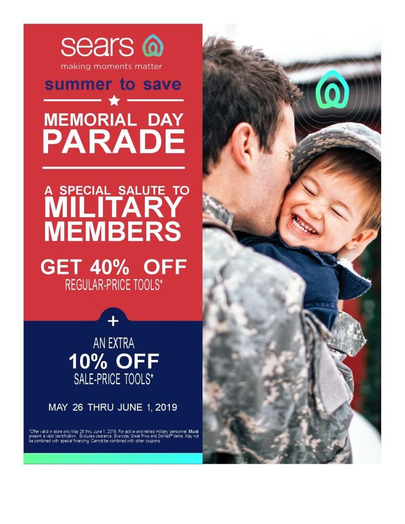 Memorial Day Parade from Sears