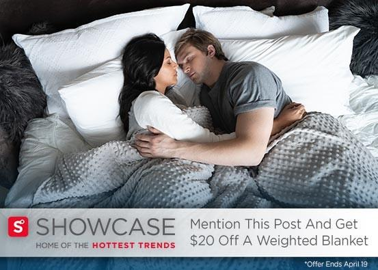 Weighted Blanket Offer from Showcase