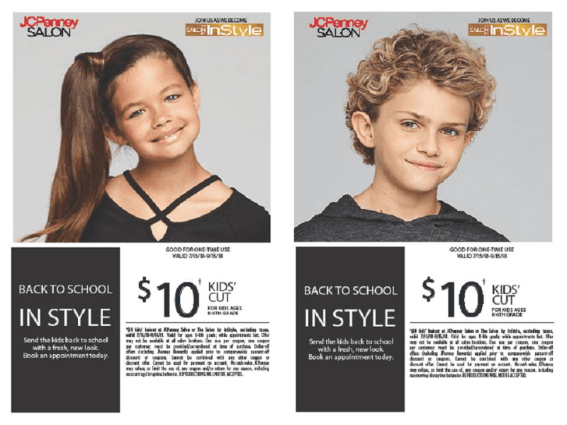 Back To School from JCPenney Salon
