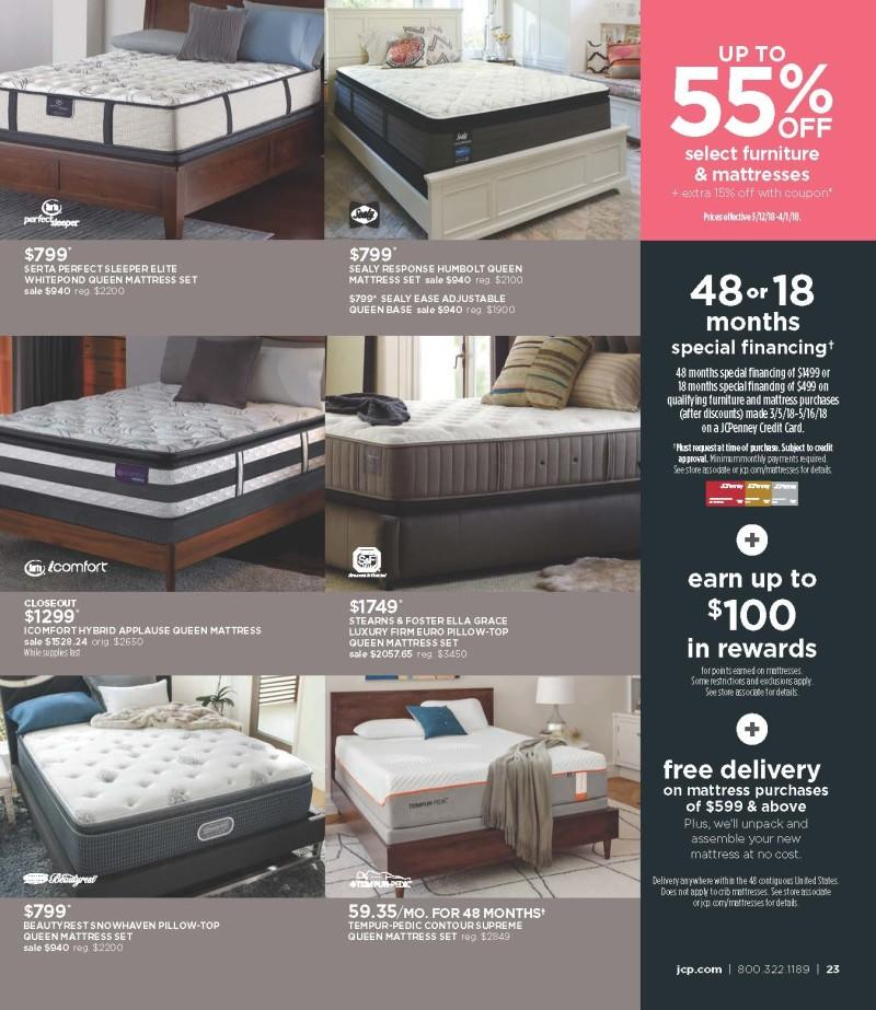 Mattress Sale from JCPenney
