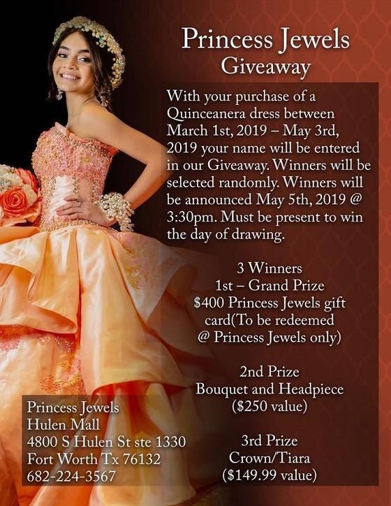Princess Jewels Giveaway
