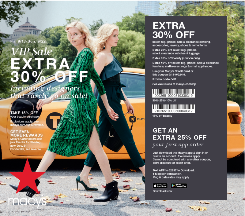 VIP Sale from macy's