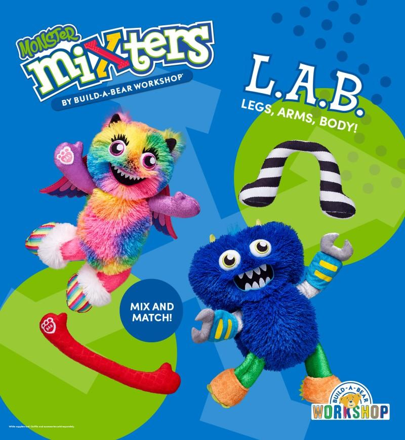 Mix It Up with Monster Mixters! from Build-A-Bear Workshop