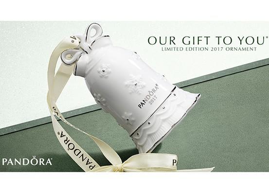 FREE Limited Edition PANDORA Ornament