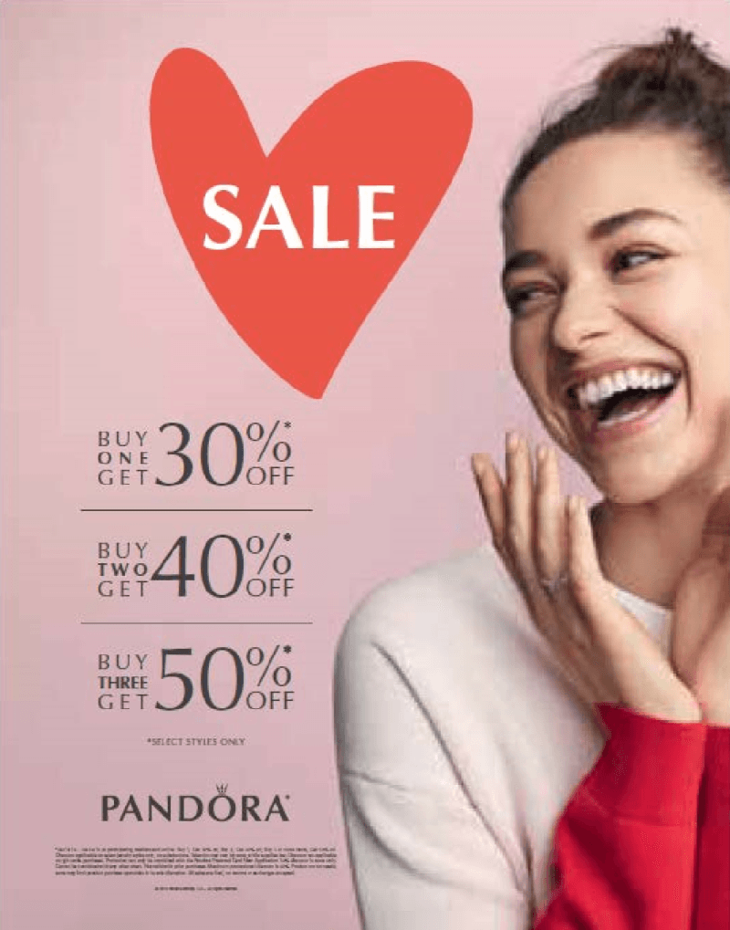Big Sale from PANDORA