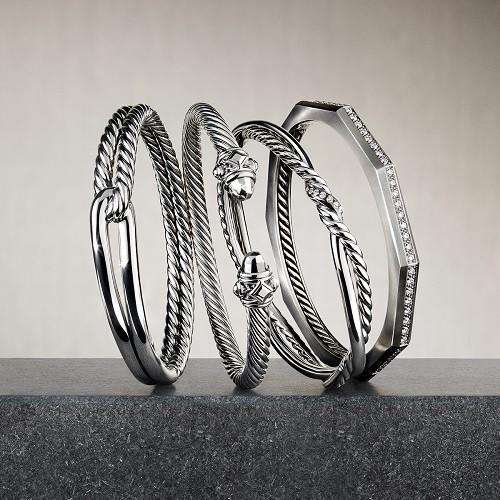 Iconic David Yurman Bracelets from David Yurman