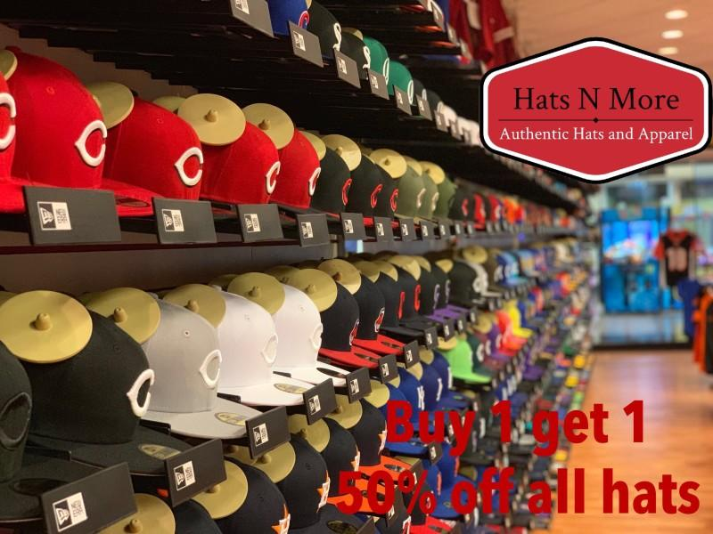 BOGO 50% OFF Hats from Hats & More