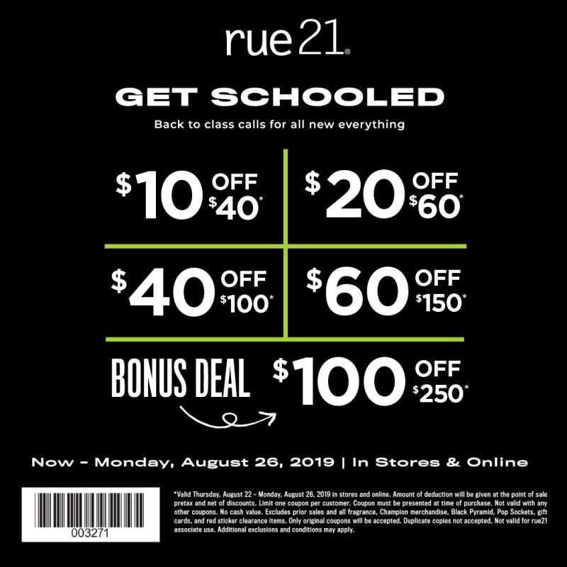 Buy More, Save More! from rue21