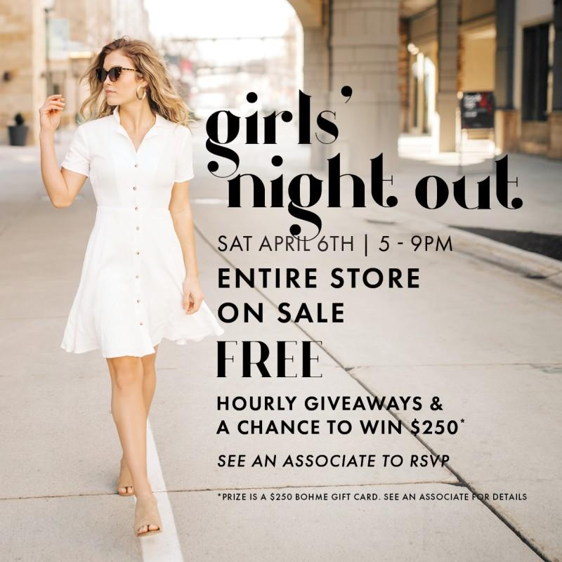 Bohme Boutique Girls' Night Out Event