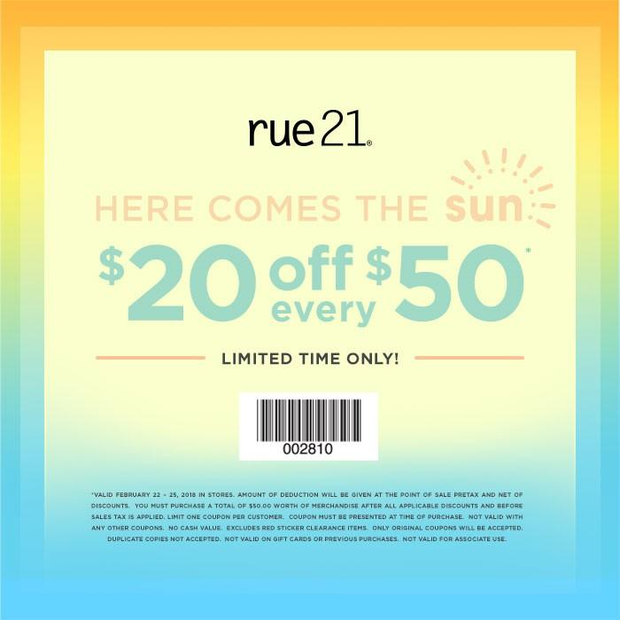 Here Comes The Sun from rue21