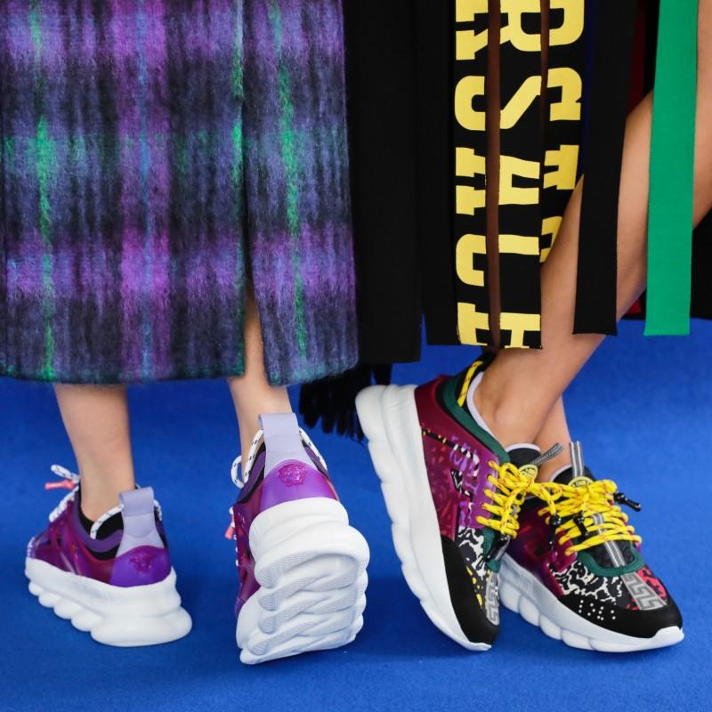 Kicks for the new generation. from Versace