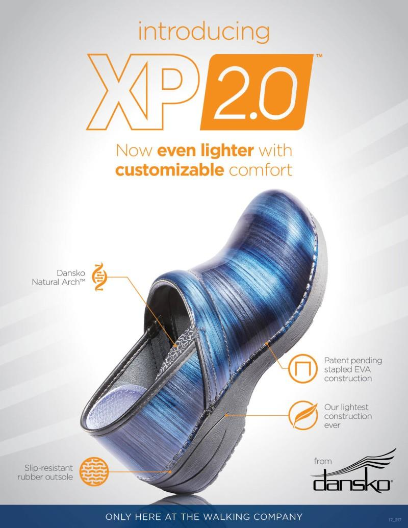 Introducing the NEW Dansko XP 2.0 – now even lighter with customizable comfort