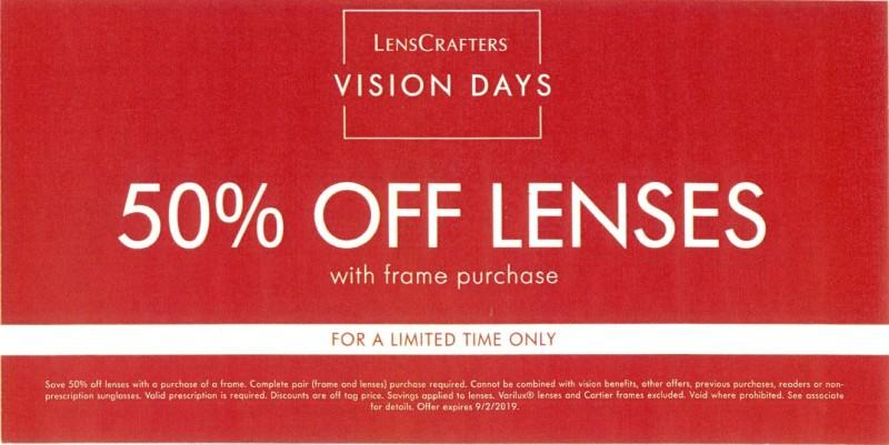 LensCrafters VISION DAYS from LensCrafters