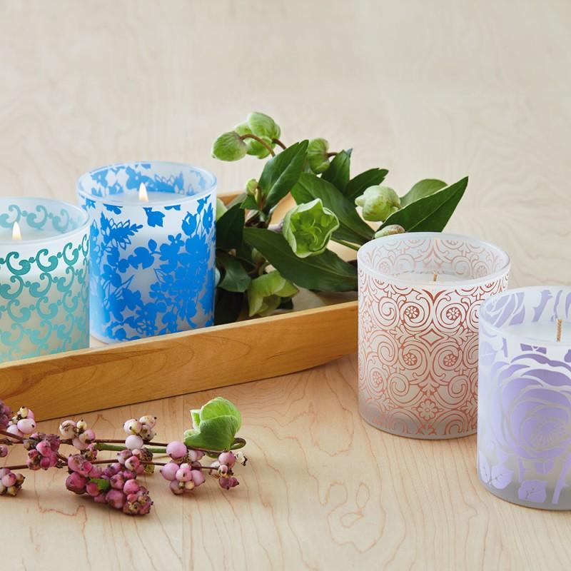 Spring Candle Tumblers