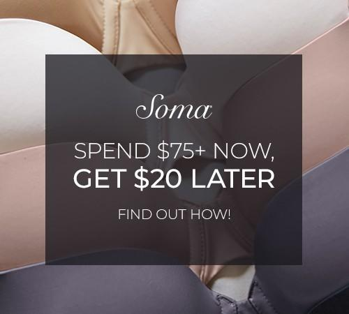 REMINDER TO REDEEM YOUR BOUNCEBACK from Soma By Chico's
