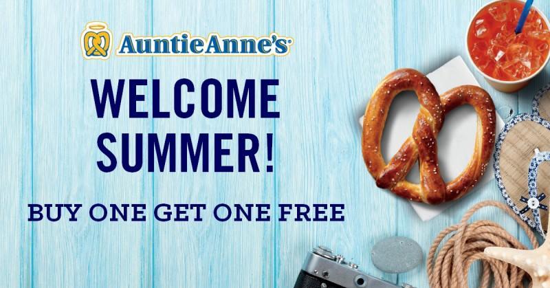 Auntie Anne's Welcome Summer! from Auntie Anne's