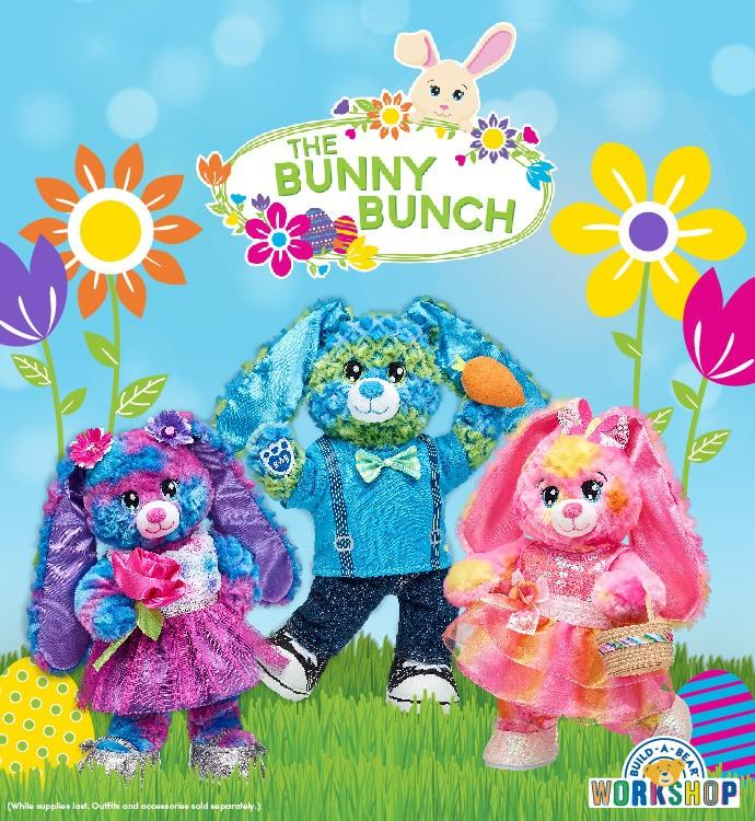 The Bunny Bunch from Build-A-Bear Workshop