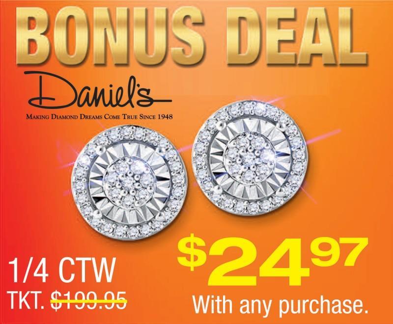 Bonus Deal from Daniel's Jewelers