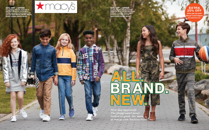 Back to School Event from macy's