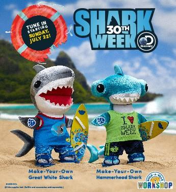 Make Your Own Shark-tastic Friends! from Build-A-Bear Workshop