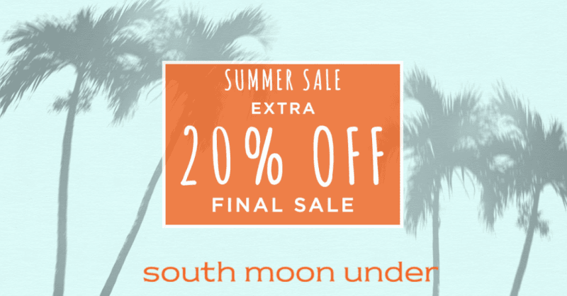 Summer Sale from South Moon Under