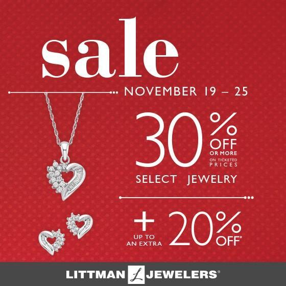Littman Jewelers Thanksgiving Sale