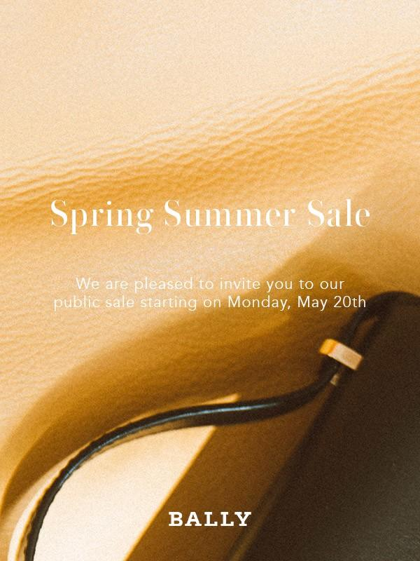 Spring Summer Sale from Bally