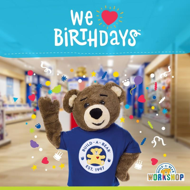 You're Invited to Bearemy's Birthday Party CeleBEARation! from Build-A-Bear Workshop