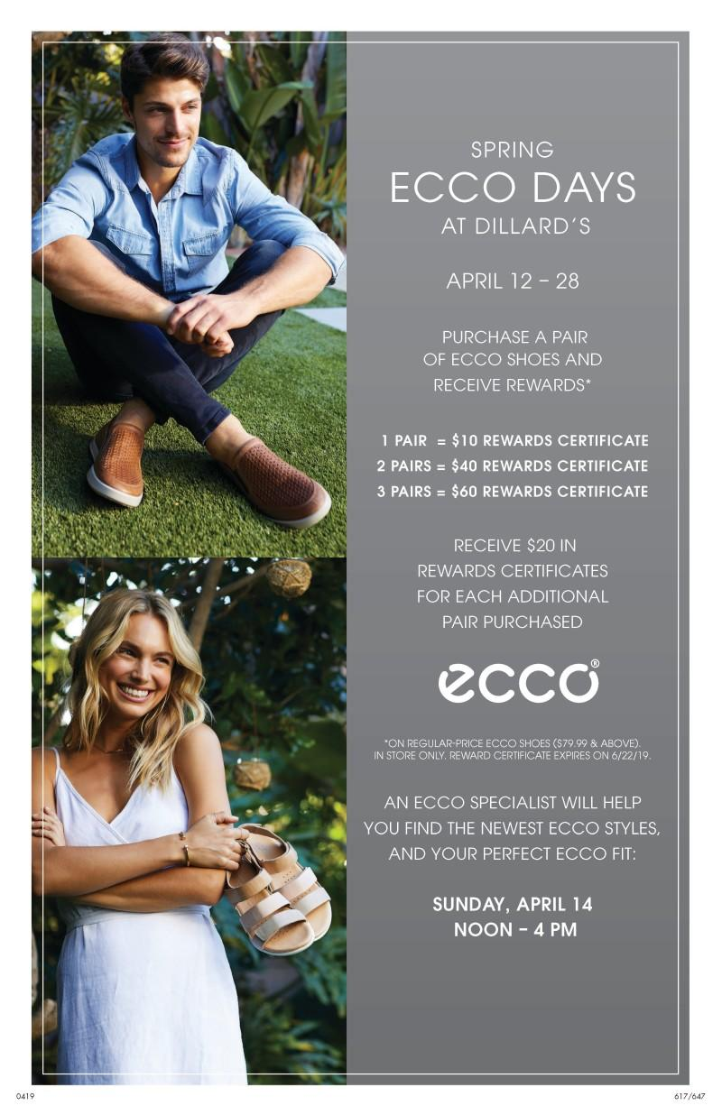 Spring into ECCO Days at Dillard's from Dillard's