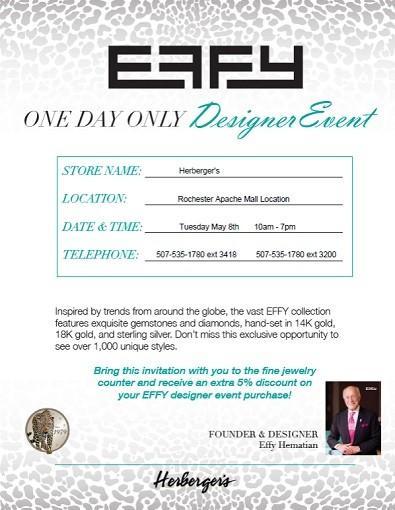 Designer Event invite